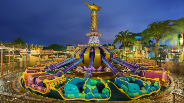 Disney Parks After Dark: The Magic Carpets of Aladdin at Magic Kingdom Park