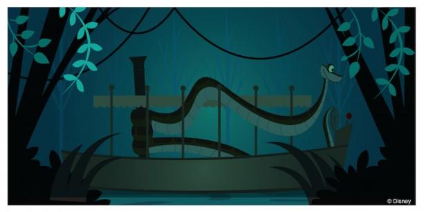 #DisneySide Doodle: Kaa Explores JungleCruise