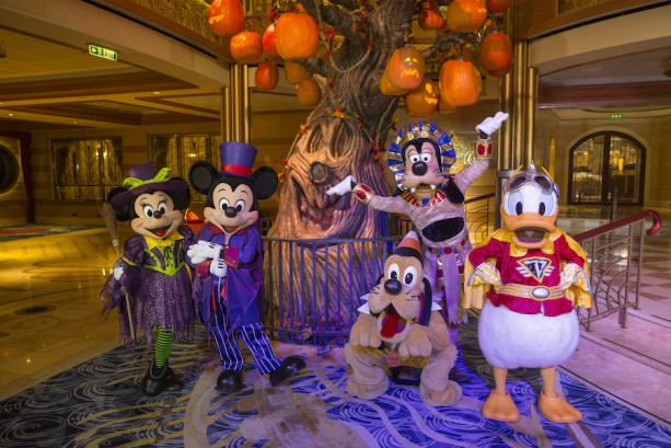 Top Five: Halloween on the High Seas with Disney Cruise Line