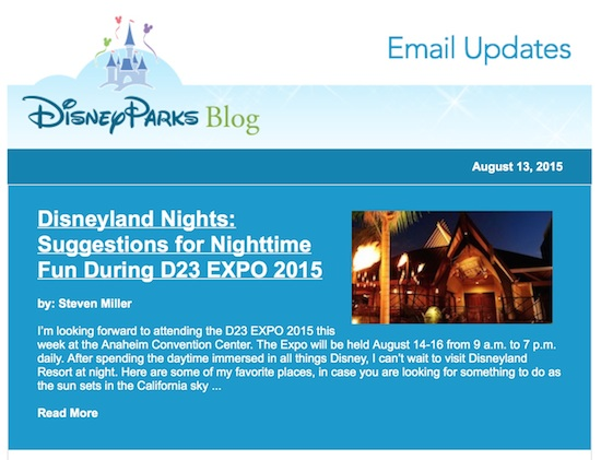 Watch the Disney Parks Blog This Weekend for Coverage of the D23 Expo