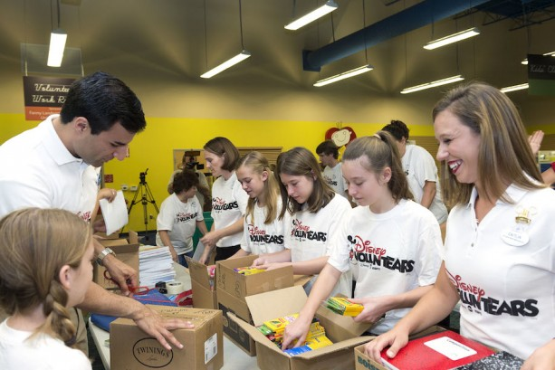 Walt Disney World Resort Donates $866,000 Worth of School Supplies to Central Florida Students