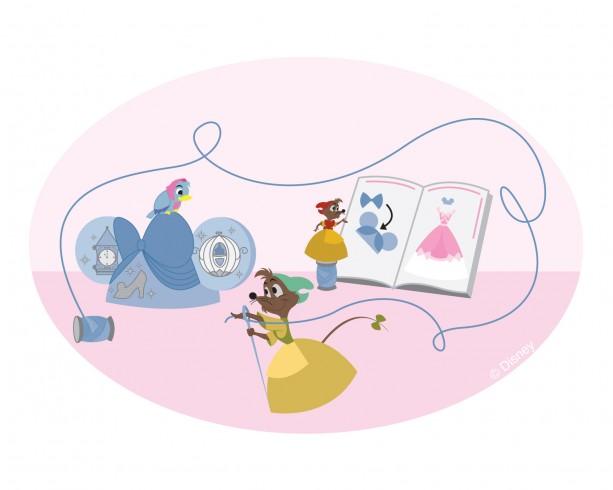 #DisneySide Doodle: Cinderella's Pals at LeChapeau