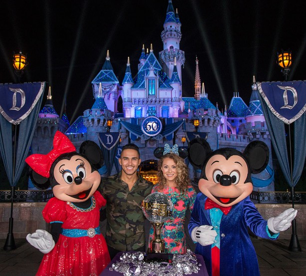 Video: Alexa PenaVega and Carlos PenaVega Announced as 'Dancing with the Stars' Contestants at Disneyland Park