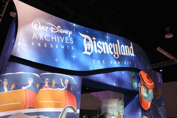 Tour The 'Walt Disney Archives Presents-Disneyland: The Exhibit' At The D23 EXPO