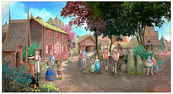New Frozen Ever After, Royal Summerhus Details & Renderings Released