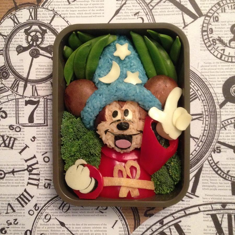 Disney Fan Inspires with Bento Box Art