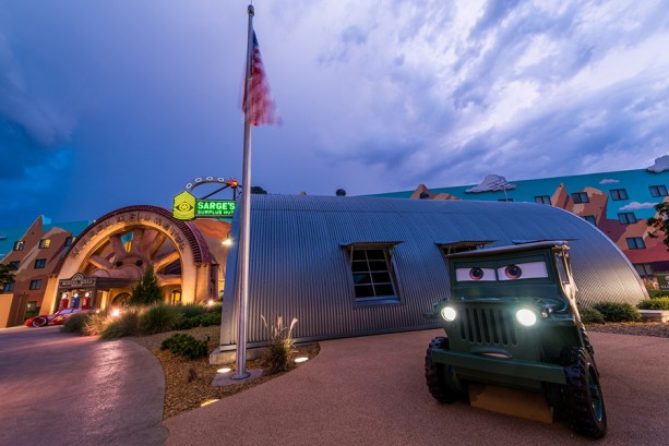 Caption This: Sarge Wakes at Disney's Art of Animation Resort