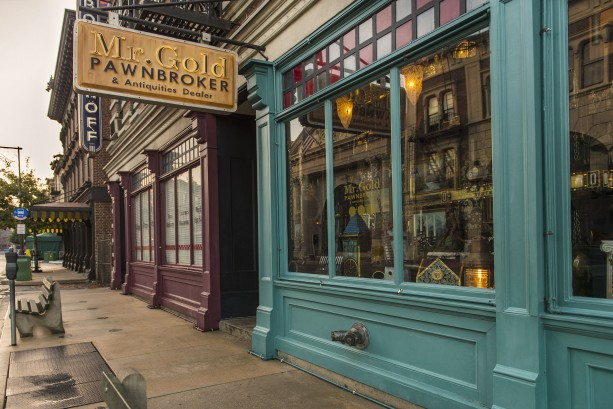 "Window Shopping at ""Once Upon A Time's"" Mr. Gold's Pawnbroker & Antiquities Dealer in Disney's Hollywood Studios"