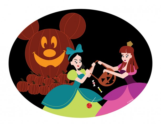 Disney Doodles: Anastasia & Drizella Fight Over Candy