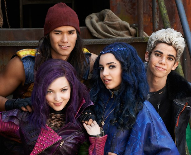 See the Stars of Disney's 'Descendants' in the Downtown Disney District at the Disneyland Resort on October 17