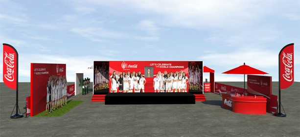 FIFA Women's World Cup 2015 Winner's Trophy Coming to Disney Springs Tomorrow at the Coca-Cola Share the Celebration Experience