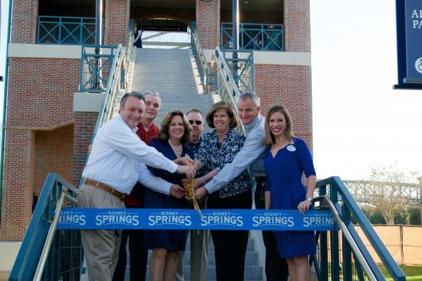 Second Pedestrian Bridge is Now Open at Disney Springs