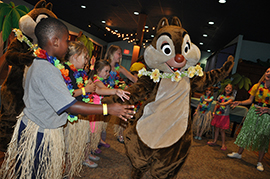 New Programming Sure to Delight Youngsters at Two Disney Children's ActivityCenters