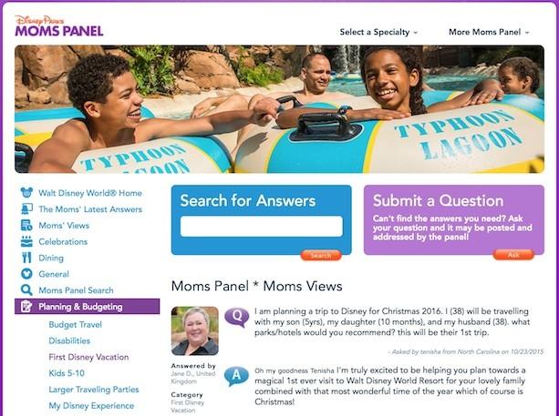 Moms Panel Monday: Planning Holiday Vacations to Walt Disney World Resort