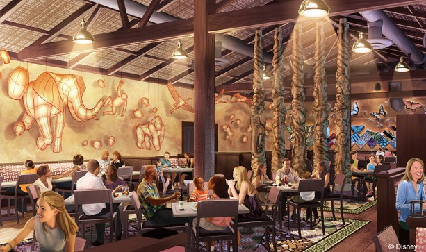 Tiffins Signature Restaurant Coming to Disney's Animal Kingdom in 2016
