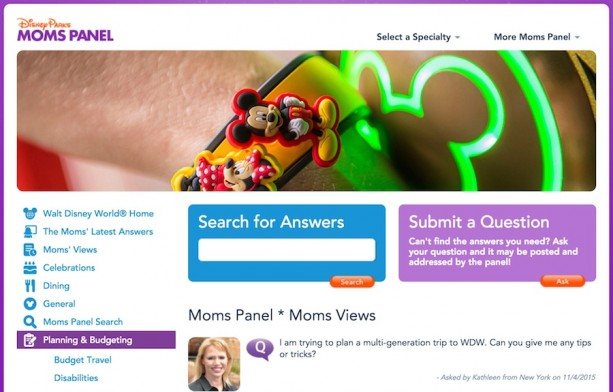 Moms Panel Monday: Multi-Gen Travel Tips to Walt Disney World Resort