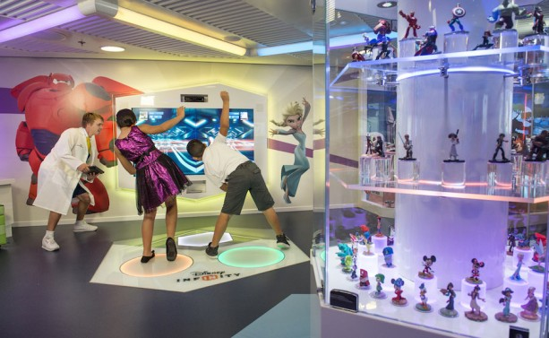 Disney Dream Launches First-ever Disney Infinity Gameplay at Sea