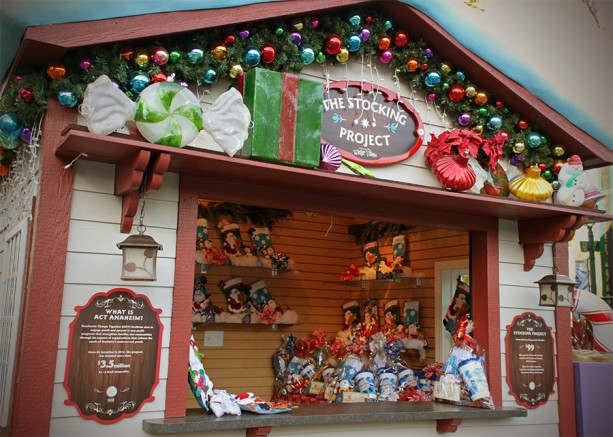 'Stock Up' on Good Cheer and Do Good at the Downtown Disney District at the Disneyland Resort