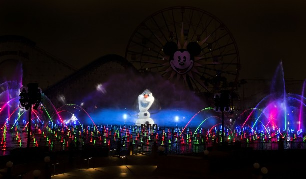 Two Shows, Two Ways to Experience 'World of Color' This Holiday Season at Disney California Adventure Park