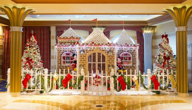 Disney Dream Wins Second Annual Gingerbread House Competition