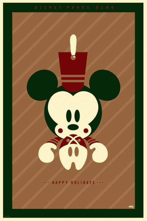Disney Parks Blog: Happy Holidays Toy Soldier Poster Sweepstakes