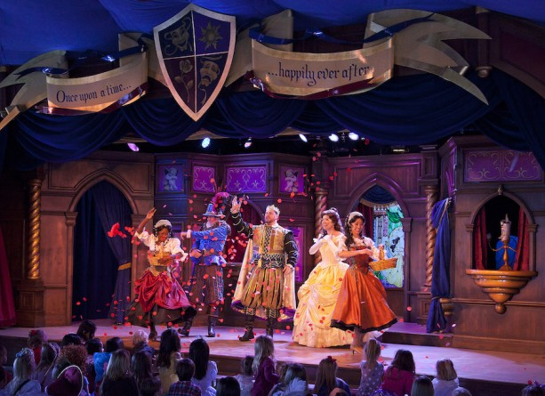 The Royal Theatre at Disneyland Park Set to Revisit the Tale As Old As Time