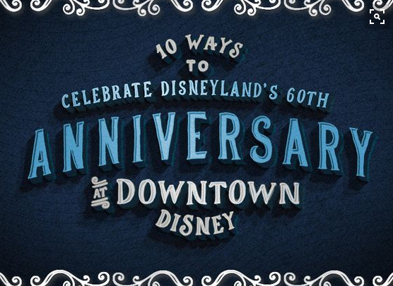 Dining! Shopping! Entertainment! Pinterest Points to Disneyland Resort Diamond Celebration Highlights at Downtown DisneyDistrict