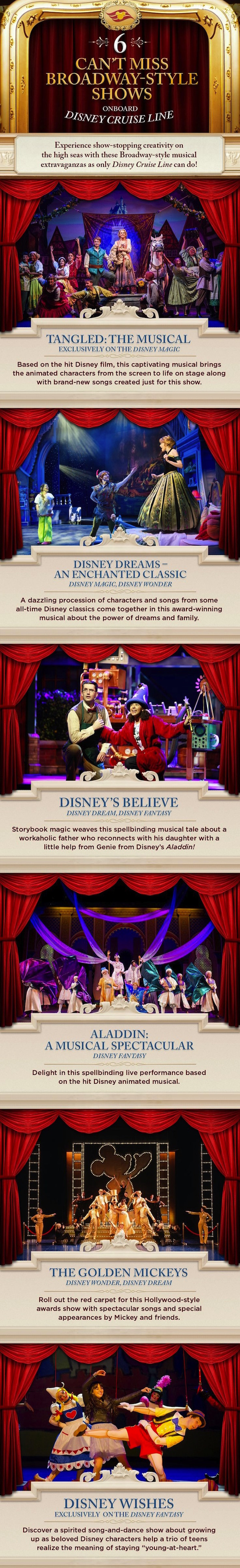 Six Can't-Miss Disney Cruise Line Broadway-Style Shows