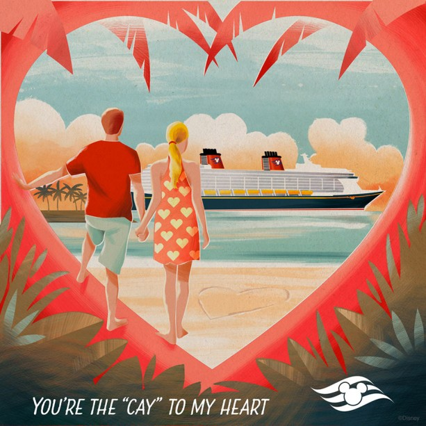 Download Disney Cruise Line Valentine's Day E-Cards
