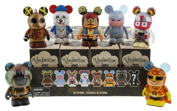 Vinylmation Movieland Series Stars Classic Disney Live-Action Film Characters