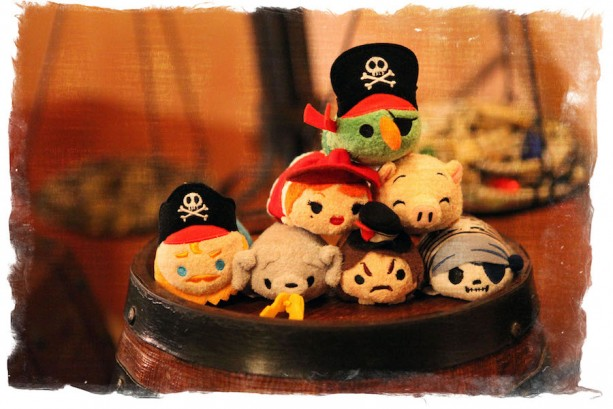 Pirates of the Caribbean Tsum Tsum Will Make Landfall on February 26, 2016 at Disney Parks