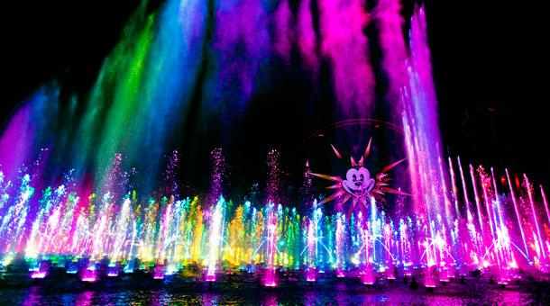 Diamond Celebration Inspiration: 'World of Color – Celebrate!' at Disney California Adventure Park