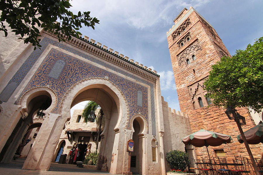 A World Showcase of Unforgettable Shopping at Epcot – Morocco Pavilion