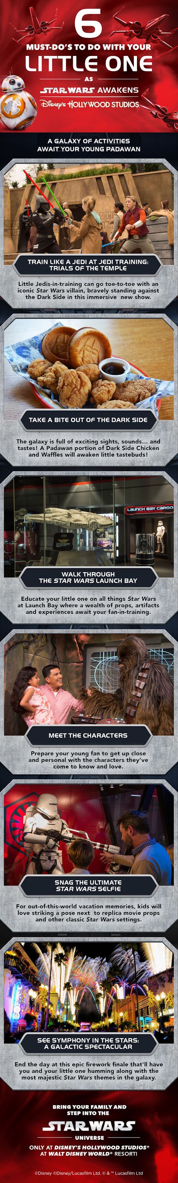 #DisneyKids: Star Wars Fun For Little Ones This Summer at Disney's Hollywood Studios