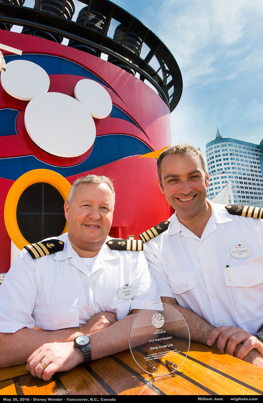 Disney Cruise Line Environmental Efforts Honored by the Port of Vancouver