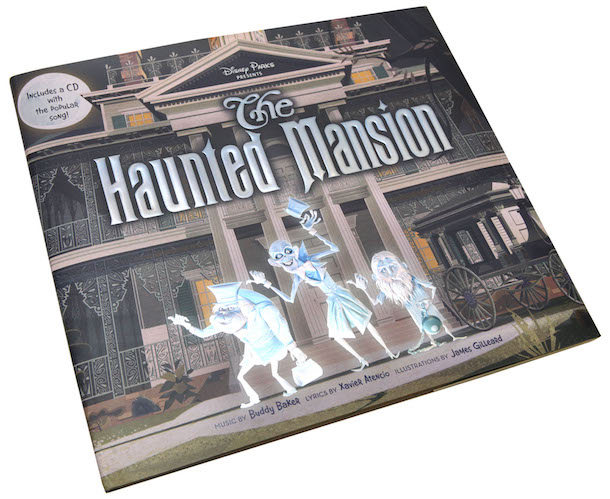 New Haunted Mansion-Themed Picture Book and CD Coming This Summer to Disney Parks