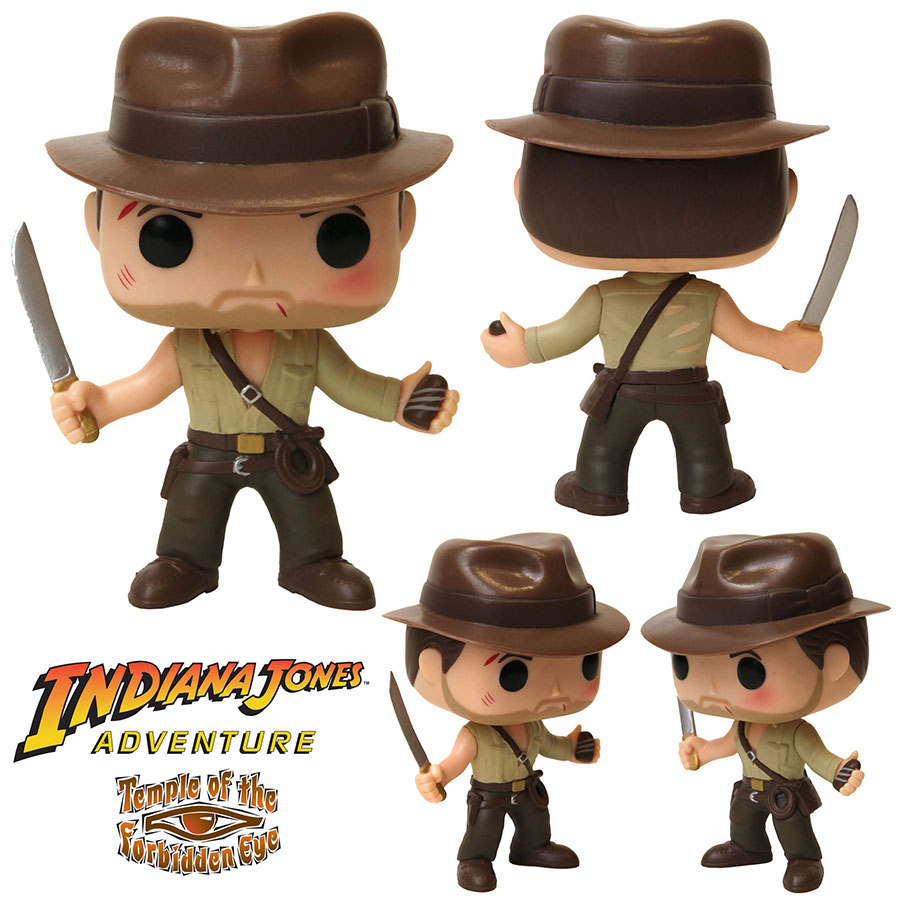 Indiana Jones Funko Pop! Figure Coming to Disney Parks on July 22, 2016