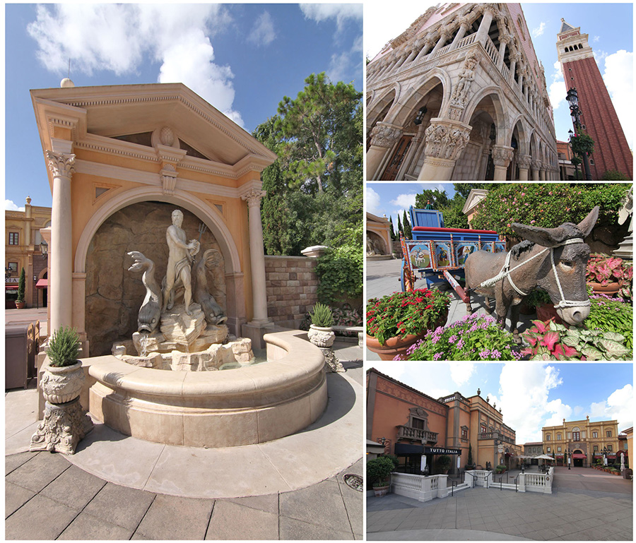 A World Showcase of Unforgettable Shopping at Epcot – Italy Pavilion