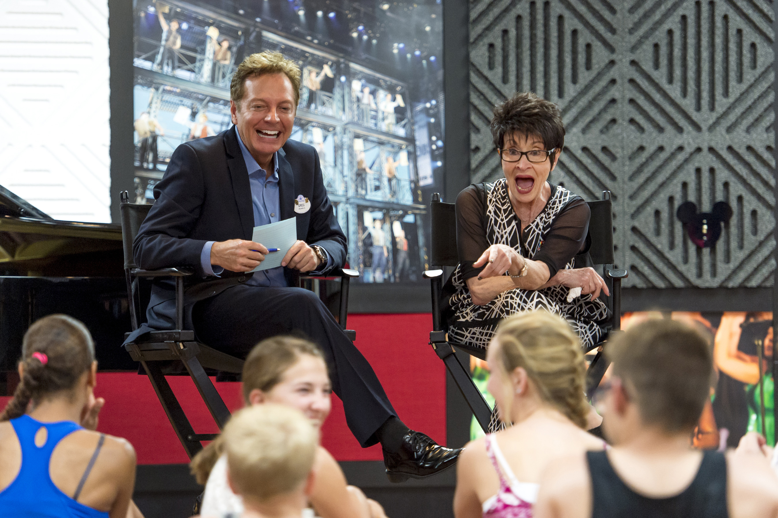 Two-time Tony Award Winner Chita Rivera Visits Disney Performing Arts Students at Epcot