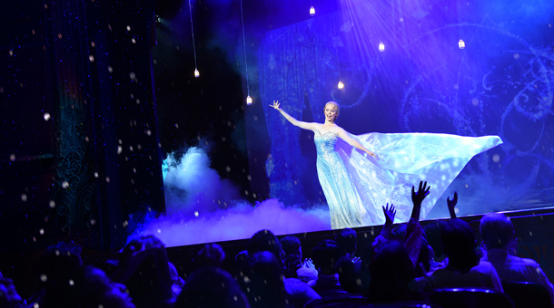 'Frozen, A Musical Spectacular' Takes the Stage at Disney Cruise Line