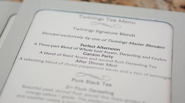 Celebrate Afternoon Tea at the Garden View Tea Room Sponsored by Twinings at Disney's Grand Floridian Resort & Spa