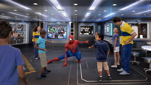 Character Interactions Take Center Stage in New Youth Activities Aboard the Disney Wonder