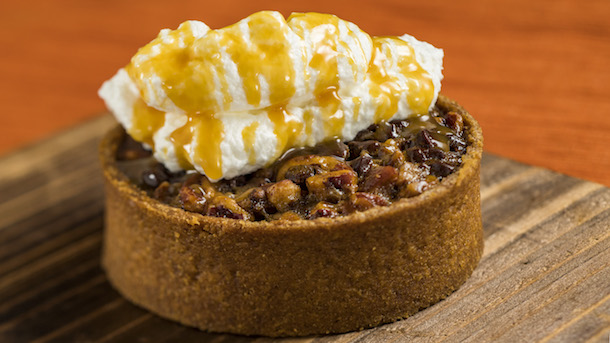 Chocolate Pecan Tart from Seasonal Southern Delights at Epcot Nov. 25-Dec. 30