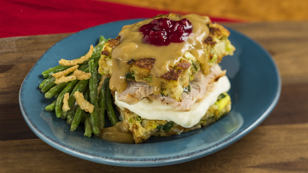 Slow-Roasted Turkey Sandwich from the American Adventure Pavilion Nov. 25-Dec. 30