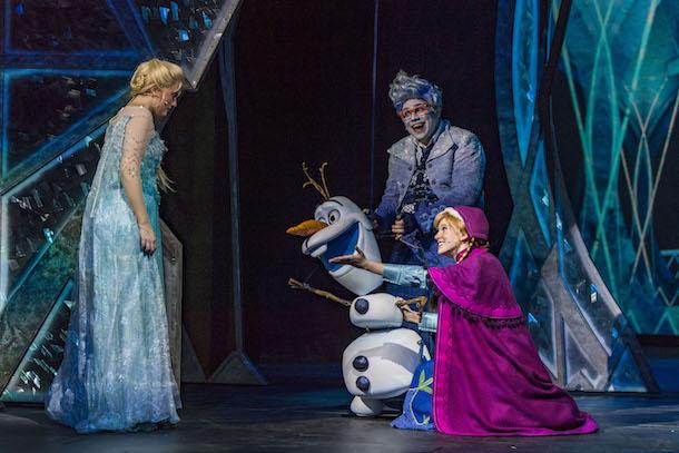 'Frozen, A Musical Spectacular' Premieres Aboard the Disney Wonder