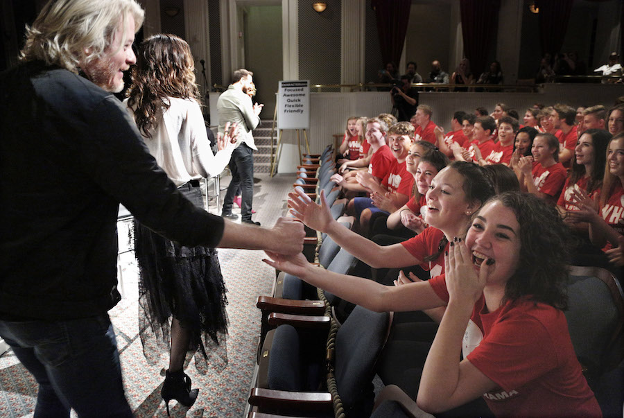 'Little Big Town' Country Music Stars Surprise Ohio Students at Disney Performing Arts Workshop