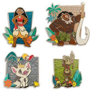 Moana Limited Edition Pin Set