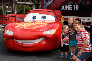 Disney·Pixar's 'Cars 3' Tour Kicks Off at Disney Springs