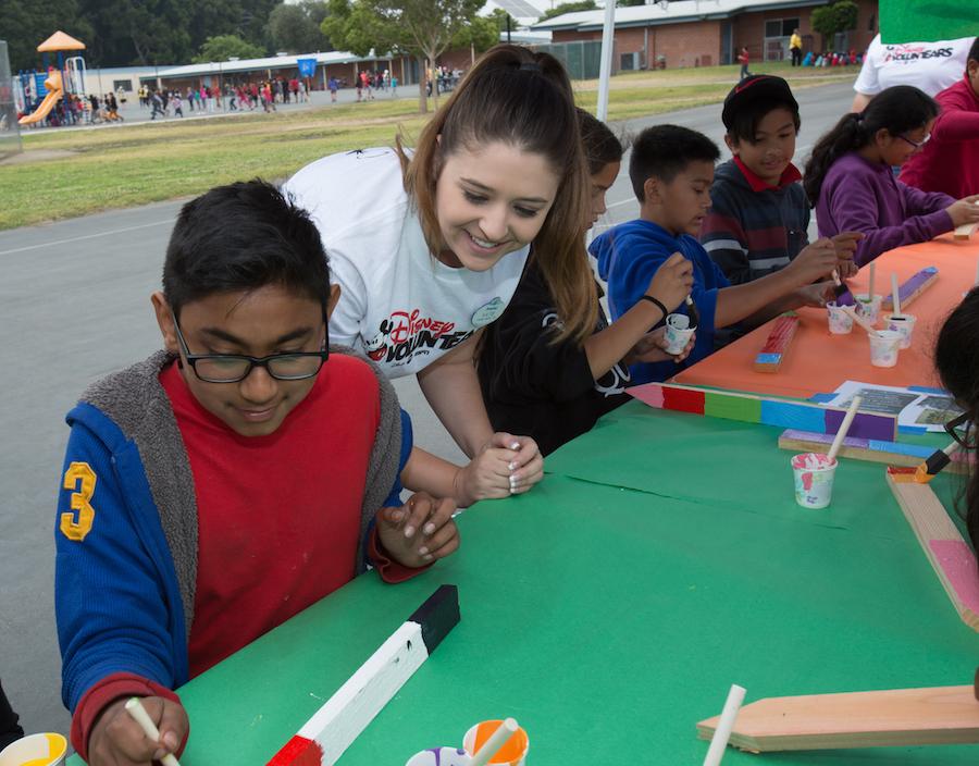 Disney VoluntEARS Help Build Second American Heart Association Teaching Garden in Anaheim