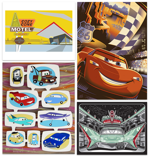 Artists Celebrate Disney-Pixar's 'Cars' and Cars Land at Disney California Adventure Park This Month